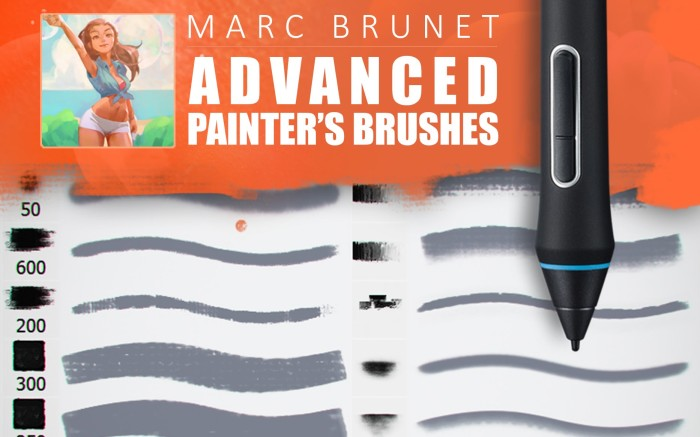 Advanced Painter's Brushes Demo