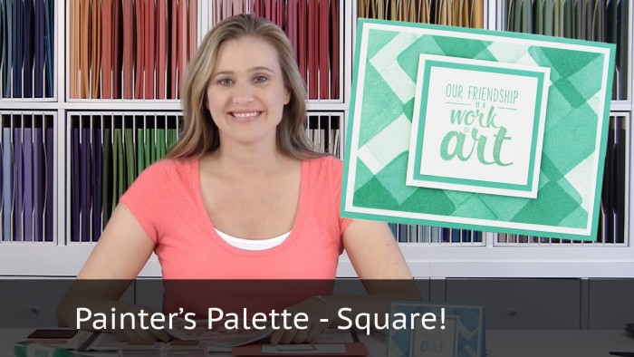 Painter's Palette Background – Squares