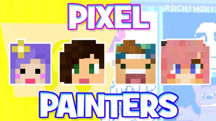 Pixel Painters w/ Stacy, Lizzy, and Joey!