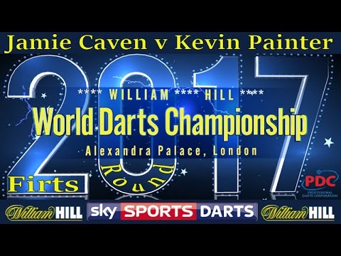 2017 William Hill World Darts Championship Jamie Caven v Kevin Painter | First Round