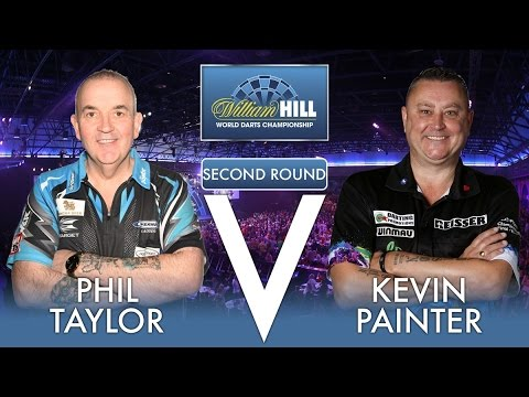 2017 World Darts Championship Round 2  Taylor vs Painter