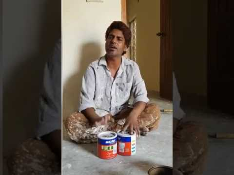 A Painter singing KK's song – Tadap tadap ke