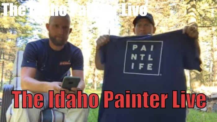 The Idaho Painter Live.  HVLP sprayer questioned answered.