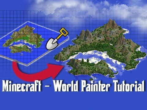 World Painter TUTORIAL – How To Create Custom Minecraft Maps!