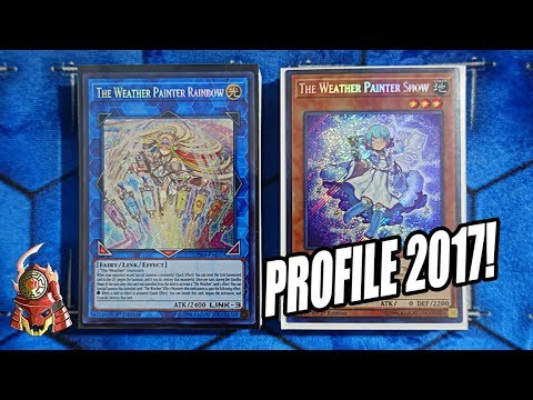 *YUGIOH* BEST! WEATHER PAINTER DECK PROFILE! NOVEMBER 6th, 2017 BANLIST! CONTROL BASED DECK! (TCG)