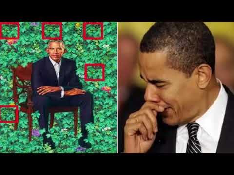 Obama CONNED By Portrait Painter – Smithsonian About To Rip Painting Off The Wall And Destroy It